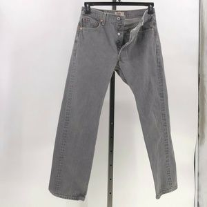 Levi's 501 straight leg button fly jeans 31x32